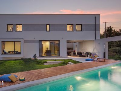 Photo for Modern Villa Leccino, in Istria, with a Pool