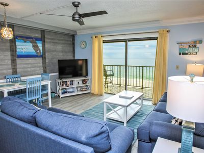 Photo for FREE BEACH SERVICE Direct Beachfront - GULF FRONT POOLS, Hot Tub & More!