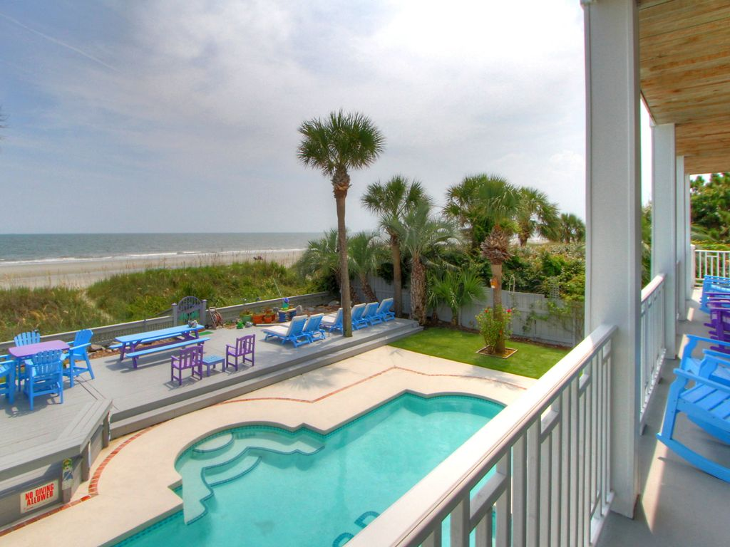 89 Dune Lane 7 Bedrooms Oceanfront Forest Beach Hilton