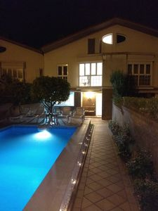 Photo for VILLA WITH CHIMNEY AND HEATED POOL 32º DONOSTI