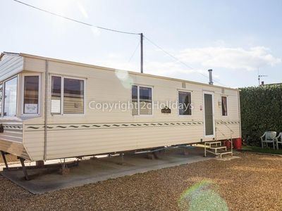 Photo for Mobile home for hire in Hunstanton by the beach in Norfolk ref 13002