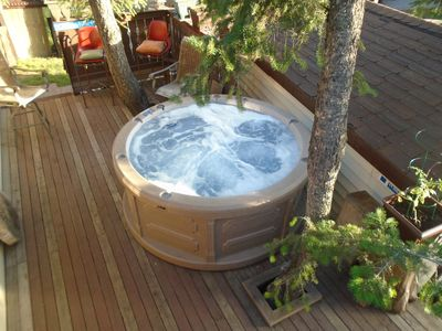 Photo for Radium Vacation Cottage within Radium Resort Spa/pools gated garden pet fiendly