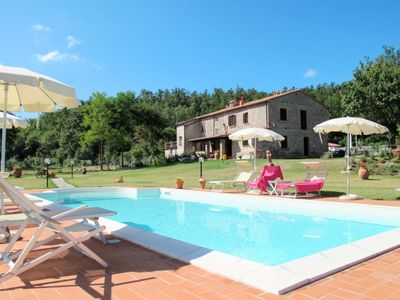 Photo for Vacation home Alighiero (BCC185) in Boccheggiano - 6 persons, 2 bedrooms
