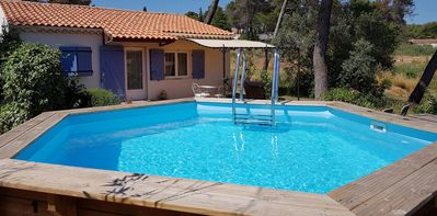 Photo for Charming cottage in Provence -Calme, comfort, privacy (swimming pool, private garden)