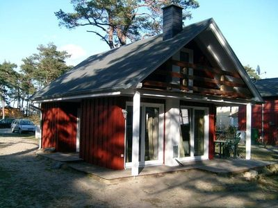 Photo for Holiday house directly behind the dunes overlooking the Baltic Sea