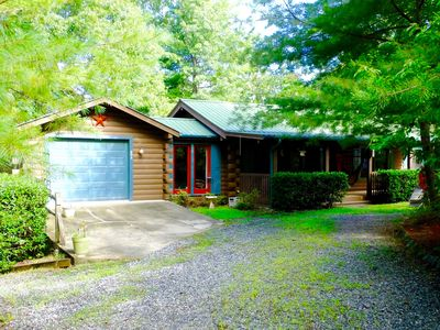 Photo for Cozy Log Cabin In Riverbend, Lake Lure North Carolina