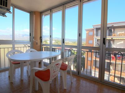 Photo for Nice apartment in Santa Margarita, near the beach. Air conditioning and parking.