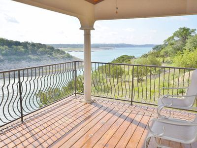 Deck - The view of Lake Travis from the balcony