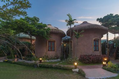 Clay house surrounded by nature M2