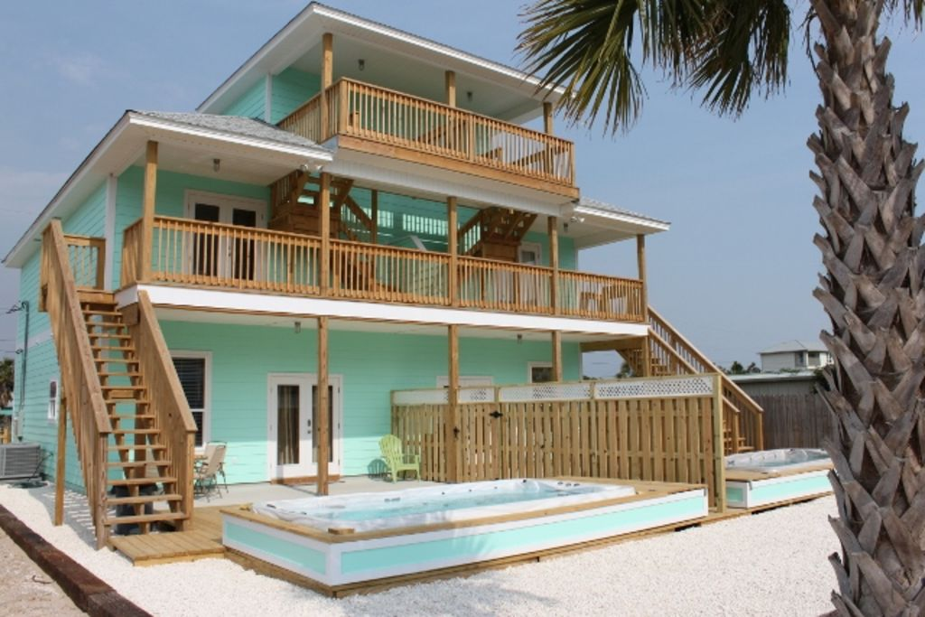 Brand New Beach Townhouse W Private Pool Steps From The