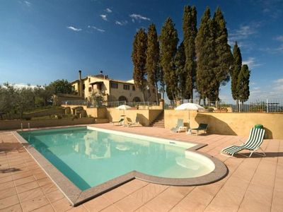 Photo for Three Bedroom Split level Apartment Volterra   Le Balze is a working farm situated in a fantastic position