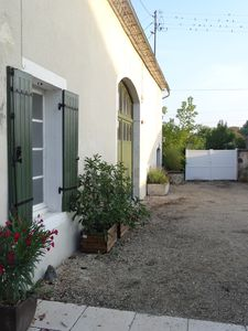 Photo for Dordogne character countryside farmhouse with heated pool and large garden.