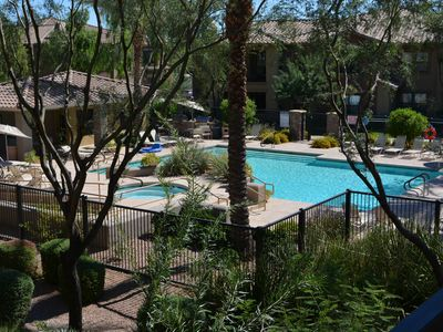 Photo for Poolside Condo Near JW Marriott, Mayo Clinic, in Desert Ridge!