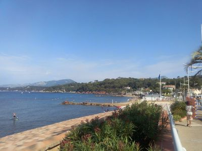 Photo for The beach on foot, calm, shaded garden and serenity.