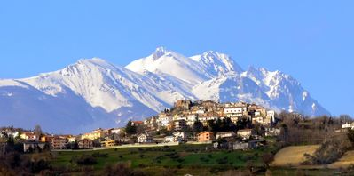 Photo for Holiday home in the Gran Sasso and Monti della Laga National Park