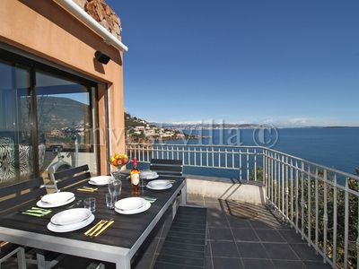 Photo for 3 bedroom Villa, sleeps 6 in Théoule-Supérieur with Air Con and WiFi