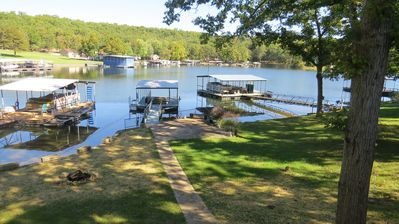 Photo for Peaceful Waters / Quaint Lakefront House with Lakefront Martini Patio