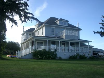 """Photo for Historic Waterfront """"Scenic"""" Home in the Heart of 1000 Islands - With A Pool!"""