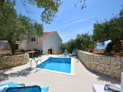 Photo for Newly built villa! Heated Pool & Kids playground. Close to the beach.