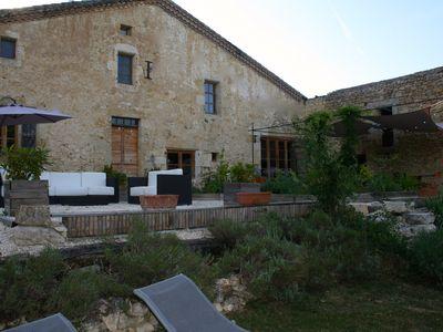 Photo for Domaine La Tasque Spacious XL Double Room in a renovated 19th century farm