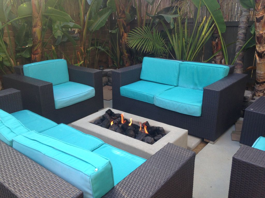 Perfect Cozy Patio With Fire Pit