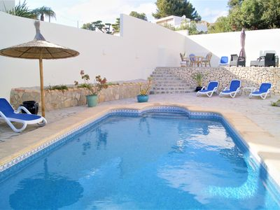 Photo for Pretty Villa with terraces, private pool near the sea between Moraira and Calpe