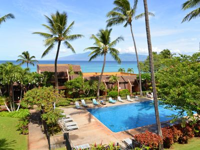 Photo for Kuleana 321,1 bed/1ba, Sleeps 4,Views from Lanai, Golden Sand Beach In Front, AC