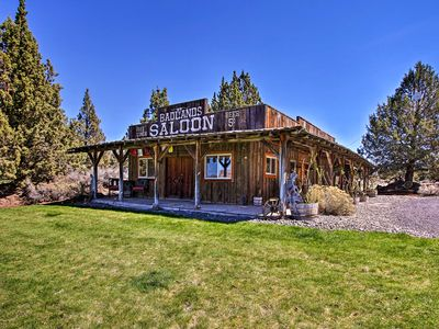 Photo for NEW-Rustic Ranch Cottage w/Trails, 30 Mins to Bend