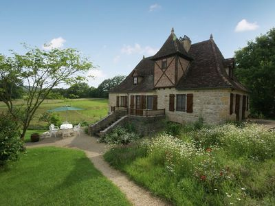 Photo for Cozy Holiday Home With Garden in Padirac France