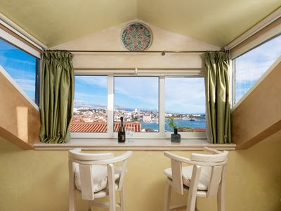 Photo for Royal apartment with beautiful city view