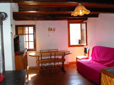 Photo for Apartment in chalet style house, Val d'Allos, High Verdon