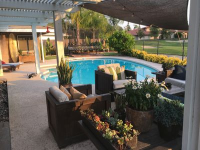 Photo for Private heated pool, Golf course, Rancho Bernardo Inn access out the back gate
