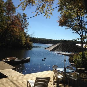 Relax and enjoy the breeze on your own private dock!