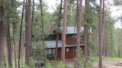 Photo for Riley's Retreat Secluded cabin   WiFi, Hot Tub and air conditioning!