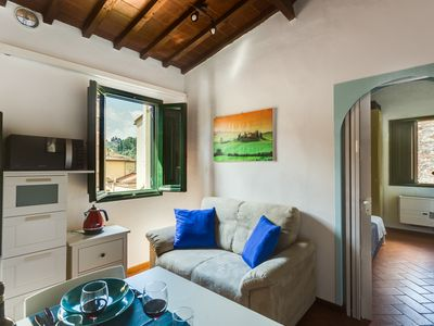 Photo for San Giovanni in the heart of Florence (Oltrarno) A / C and Free WIFI