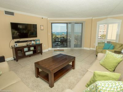 "Photo for IR 314 is a Stunning 2 BR Gulfview - Recently Renovated and 60"" Flat Screen"