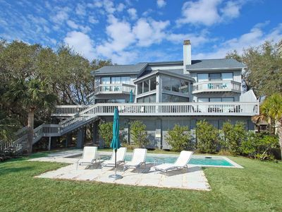 Photo for Enjoy an oceanfront getaway complete w/private pool at this dog-friendly home!