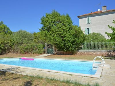 Photo for Authentic holiday home with private swimming pool and large garden in Southern France
