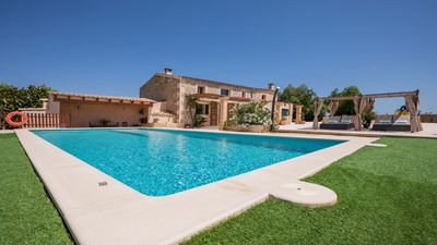 Photo for Cozy, typical Mallorcan house with pool