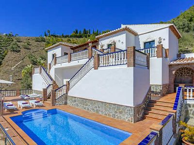 Photo for Impressive villa with great views, best enjoyed from the private pool & sun terrace
