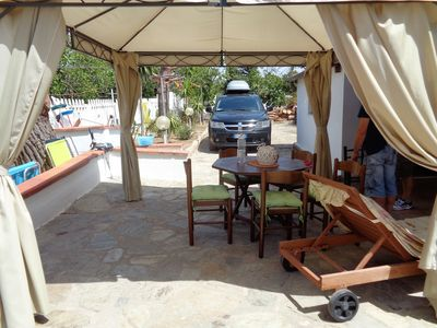 Photo for PORTO PINO VILLA KATY CATERINA TO 200 METERS FROM THE SEA