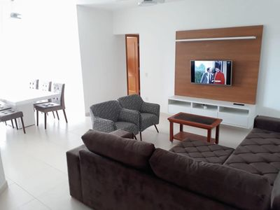 Photo for (Apartment 32) Apt with view to the sea, 3 bedrooms, beach of Toninhas