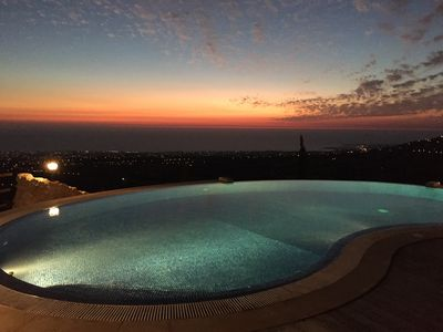 Photo for Stunning Location Spacious Private Well Maintained Villa 180 Degree Sea View