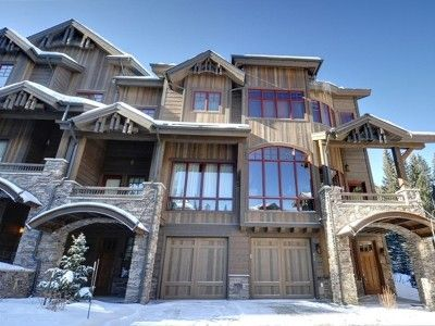 Photo for Exquisite 4-Bedroom Ski-In/Ski-Out (modified), Pvt Hot Tub With 2 Living Areas