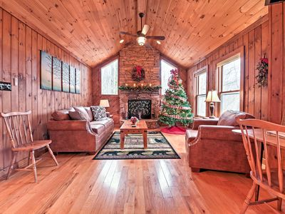 Photo for Wonderful Beech Mountain House w/ Forest Views!