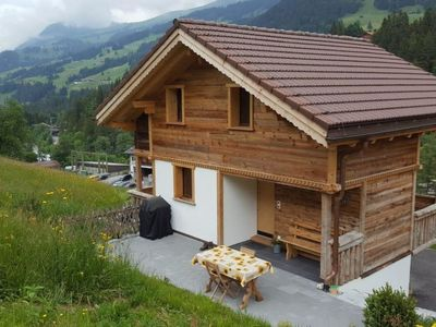 Photo for Apartment Chalet Wäschhüsi in Adelboden - 2 persons, 1 bedrooms
