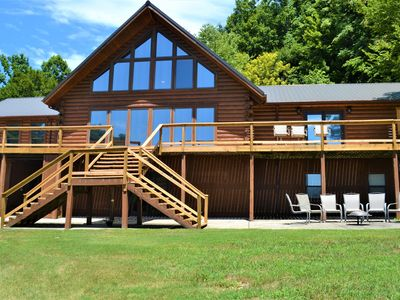 Photo for Beautifully nestled over Center Hill Lake is the magnificent FadeAway Lodge