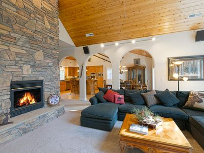 Photo for Bow Woods - Gorgeous 4 BR in Tahoe City - 2 Spacious Master Suites!
