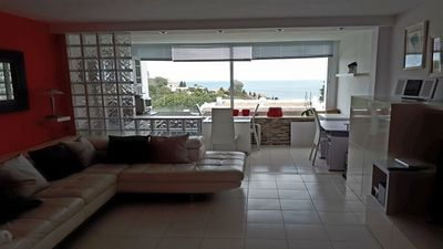Photo for LUXURY APARTMENT WITH UNINTERRUPTED SEA VIEWS IN MIRAFLORES RESORT, MIJAS COSTA