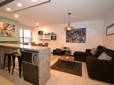 Photo for VIOLET - 1 Br Renovated Apartment with Modern decor
